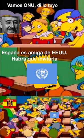 Entrada en la ONU