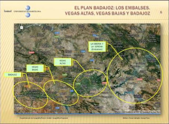 Plan Badajoz y Jaén