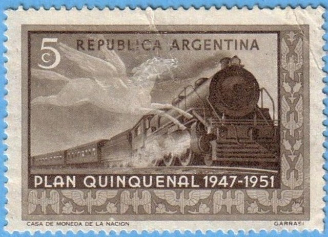 Primer plan Quinquenal de Peron