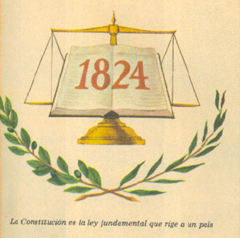 LA CONSTITUCION DE 1824