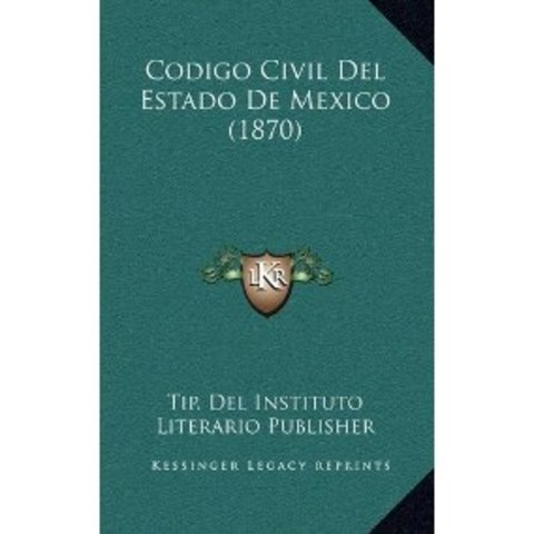 CODIGO CIVIL DE 1870 D.F.