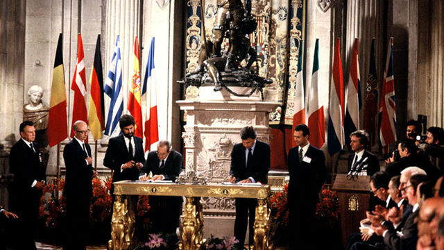 Entrada España en la CEE