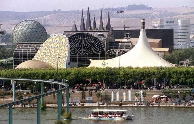La Expo del 92 de Sevilla
