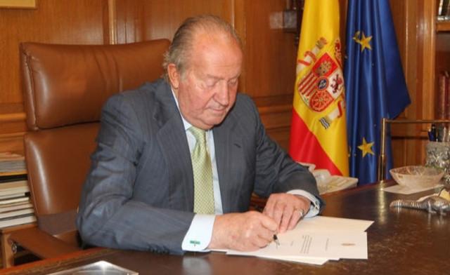 Juan Carlos I abdicó