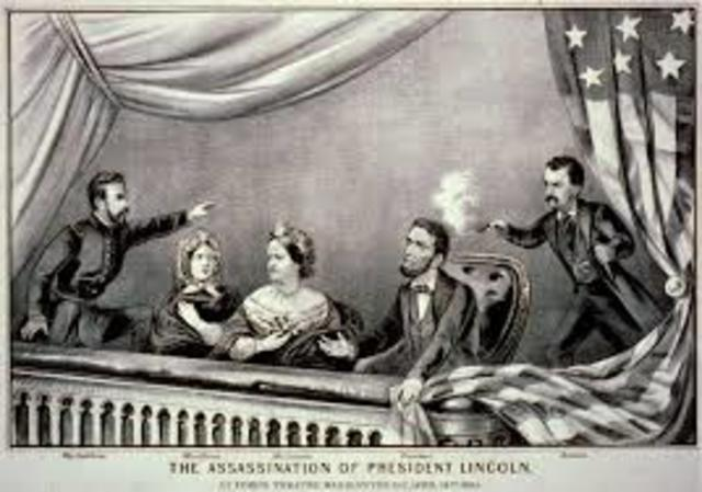 Abraham Lincoln Assinated