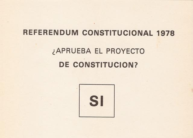 Ratificada en referéndum popular