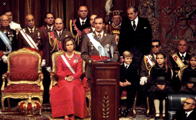 Coronación de Juan Carlos I