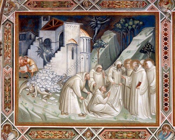 Quand Benoît de Nursie fonda le monastère du Mont-Cassin, le monachisme chrétien n'était plus une nouveauté. Les premiers monastères furent fondés en Europe occidentale dès le IVe siècle.