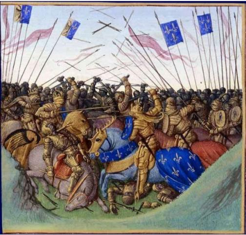 Les petits-fils de Charlemagne se livrent une bataille qui va décider du partage de l'héritage carolingien. Charles le Chauve et Louis le Germanique battent leur frère aîné, Lothaire, à Fontenay-en-Puisaye.