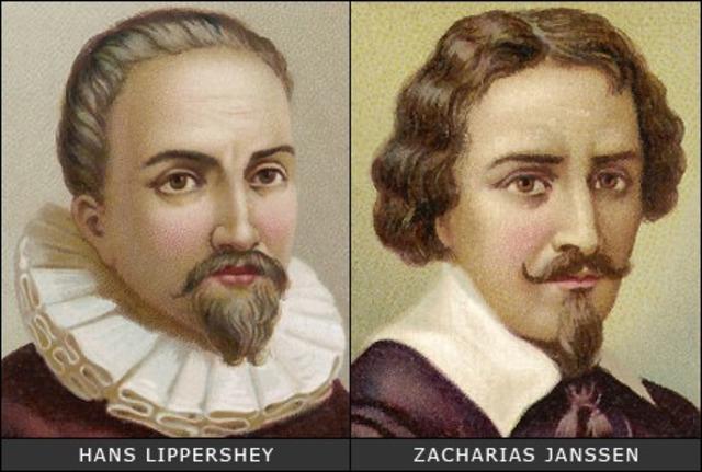 Hans and Zacharias Janssen
