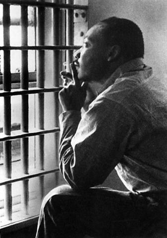 MLK goes to a Birmingham Jail