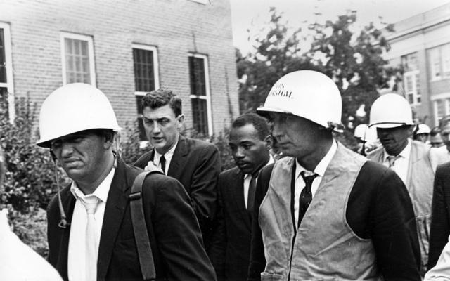 Kennedy sends in Federal Troops