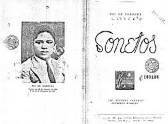 """""""Sonetos"""" de Rui de Noronha"""