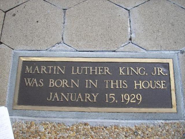 MLK Jr. Born