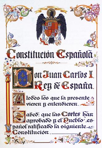Constitución del 1978.