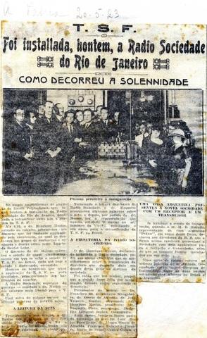Radio na Escola Municipal do Rio