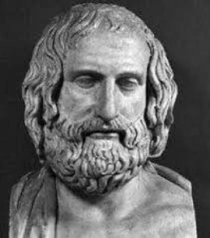 428 BCE - Muerte de Anaxagoras