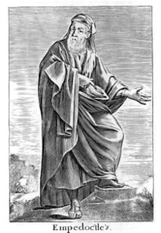 495 BCE - Empédocles