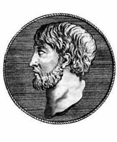 525 BCE - Muerte de Anaxímenes