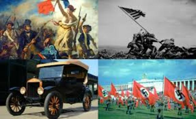1789 - Inicio de la Época Contemporanea.