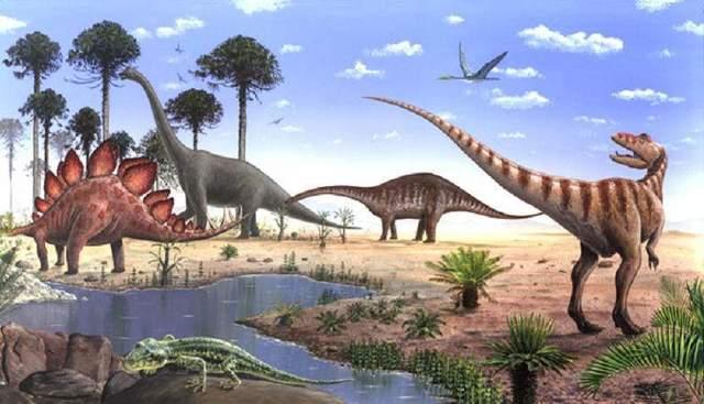 La era Mesozoico