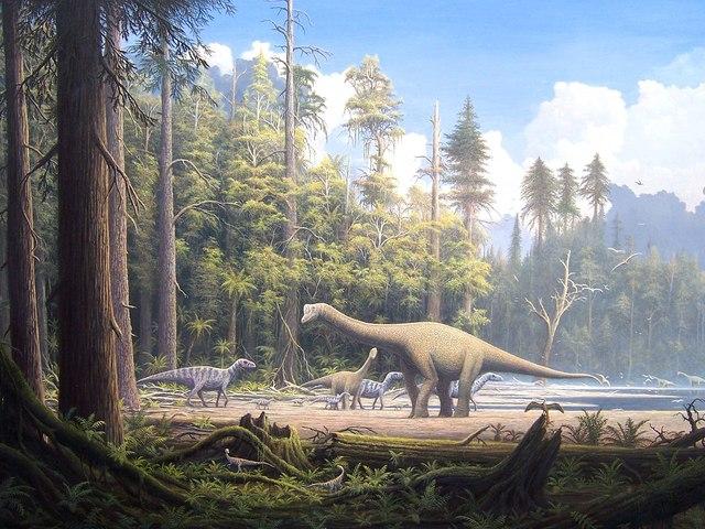 El periodo Jurasico