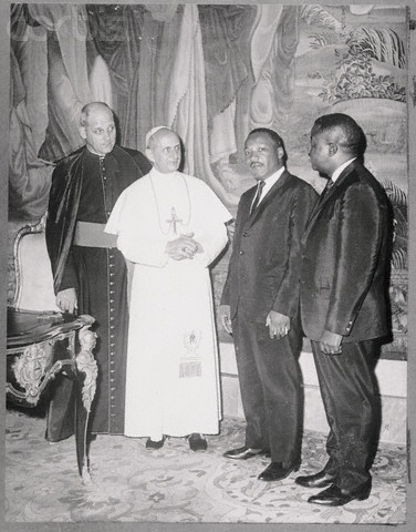 Audience with the Pope