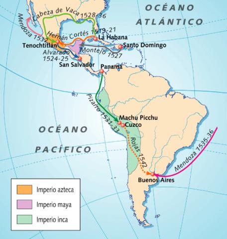 Los aztecas y los incas
