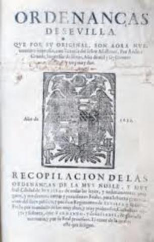 Ordenanzas de Sevilla.