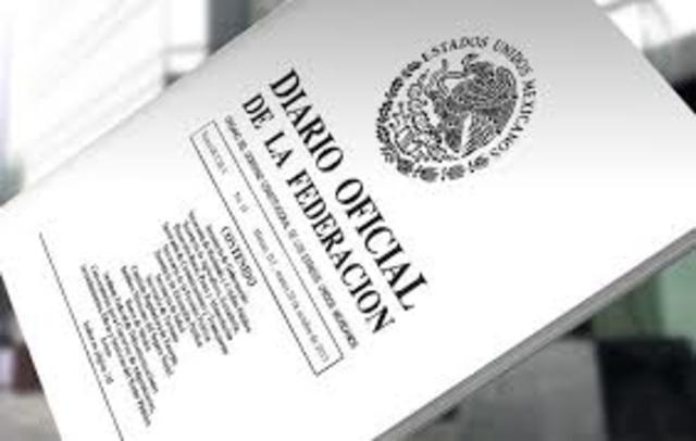 Publicacion del decreto que reformó Código de Comercio