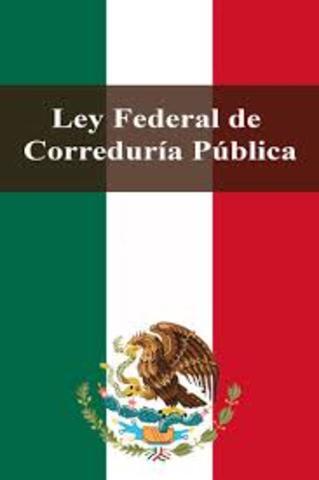 Ley federal de correduría publica