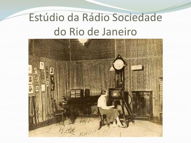 Brasil - Criação da Educação a Distância pelo rádio brasileira