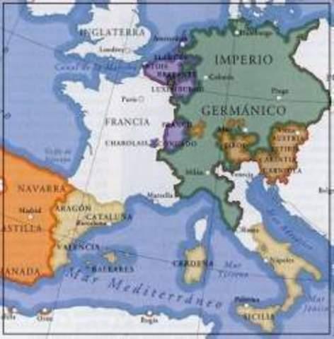 Comienza el Uso del término Sacro Imperio Romano Germánico
