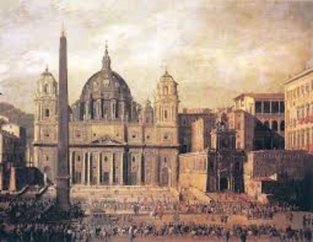 Catedral de San Pedro, Roma.