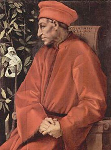 Academia Platónica Florentina, creacion.