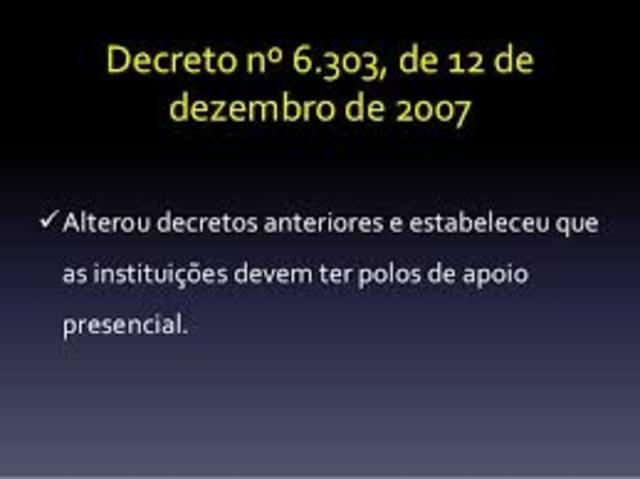 Brasil - Decreto nº 6.303