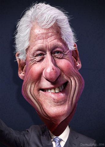 Bill Clinton sucede a George Bush