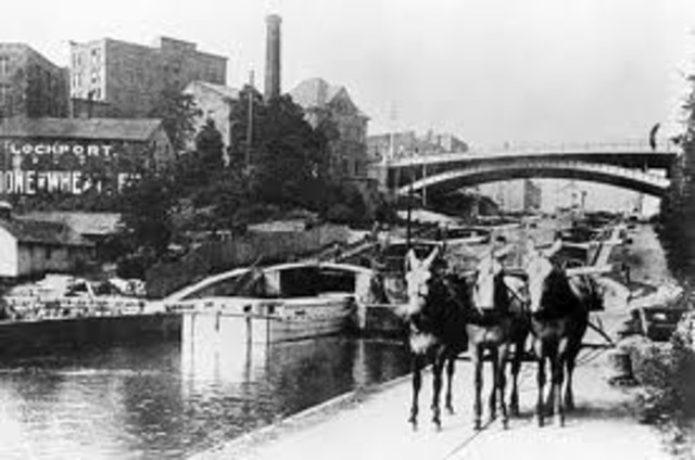 Erie Canal Opens