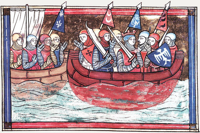 Crusader Armies Start to Arrive at Constantinople