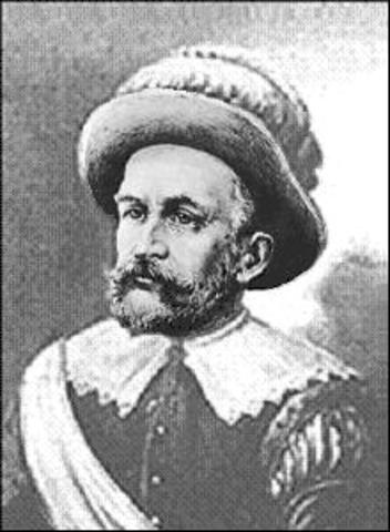 Peter Minuit Governing New Netherlands Colony