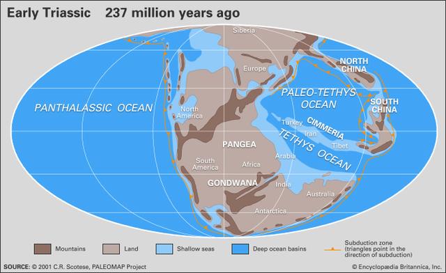 End-Triassic