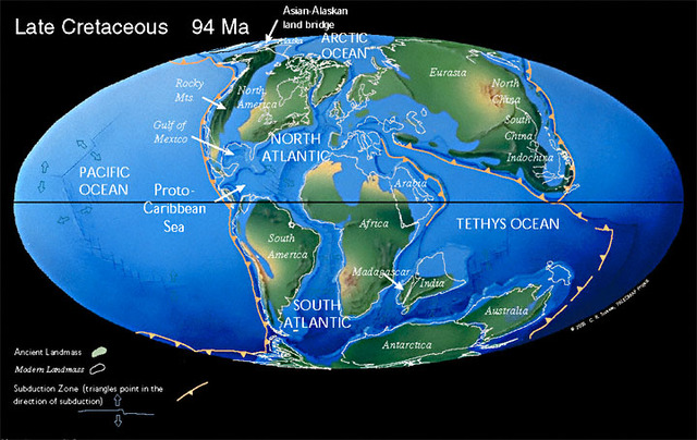"End-Cretaceous (also known as ""Cretaceous-Tertiary"" or ""K-T"")"
