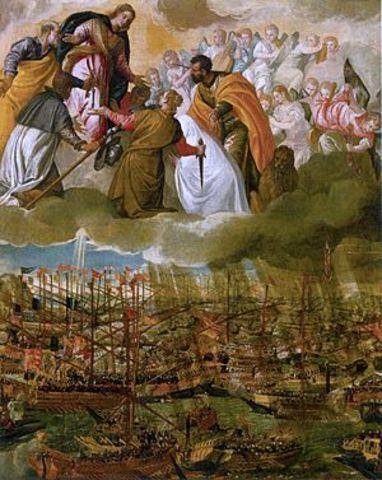 Victòria de Lepant contra els turcs
