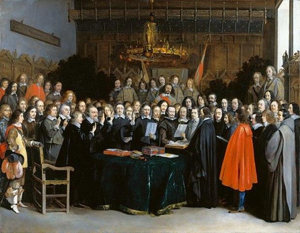 Pau de Westfàlia, equilibri entre les potències europees.