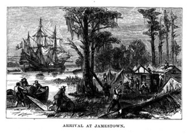 The first English colony: Jamestown