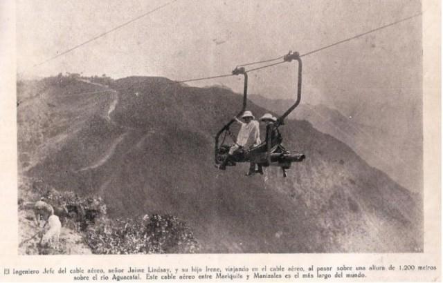 CABLE AEREO EN COLOMBIA