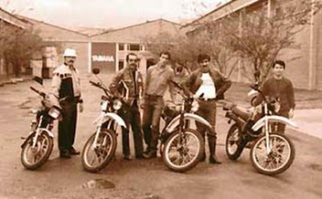 PRIMERAS MOTOS EN COLOMBIA