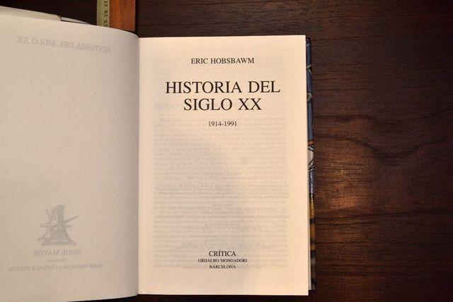 HOWBSBAWN. HISTORIA DEL SIGLO XX