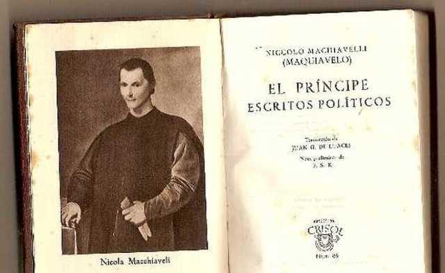 MAQUIAVELO. EL PRINCIPE