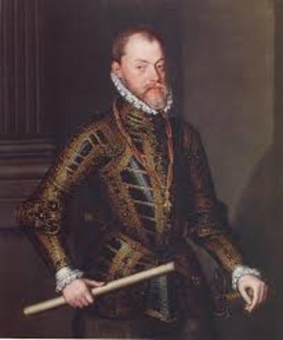 Felipe II hil zen